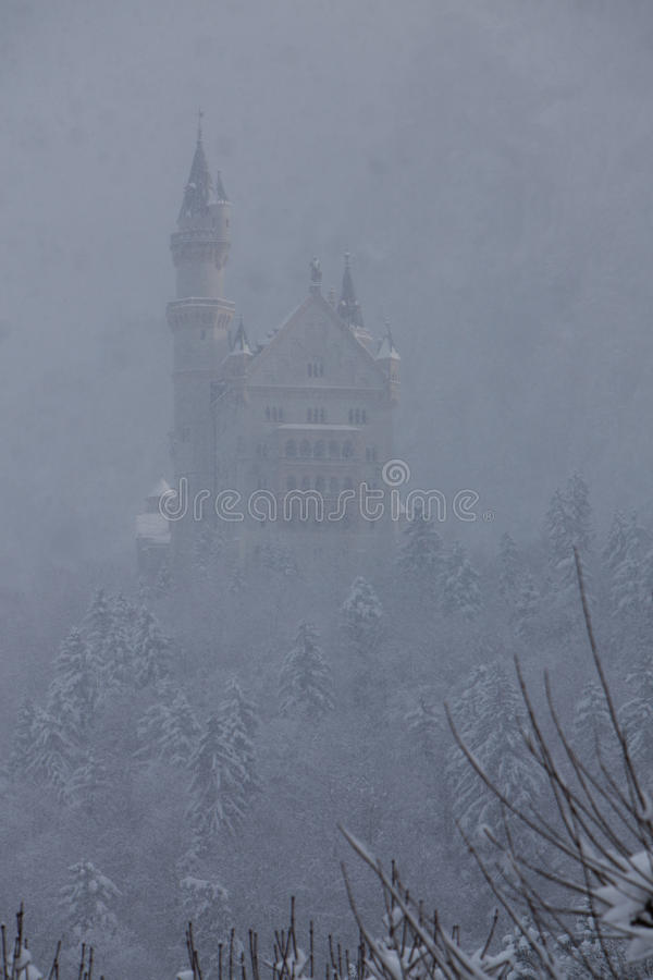 Free Castle In The Fog Royalty Free Stock Photo - 18226235