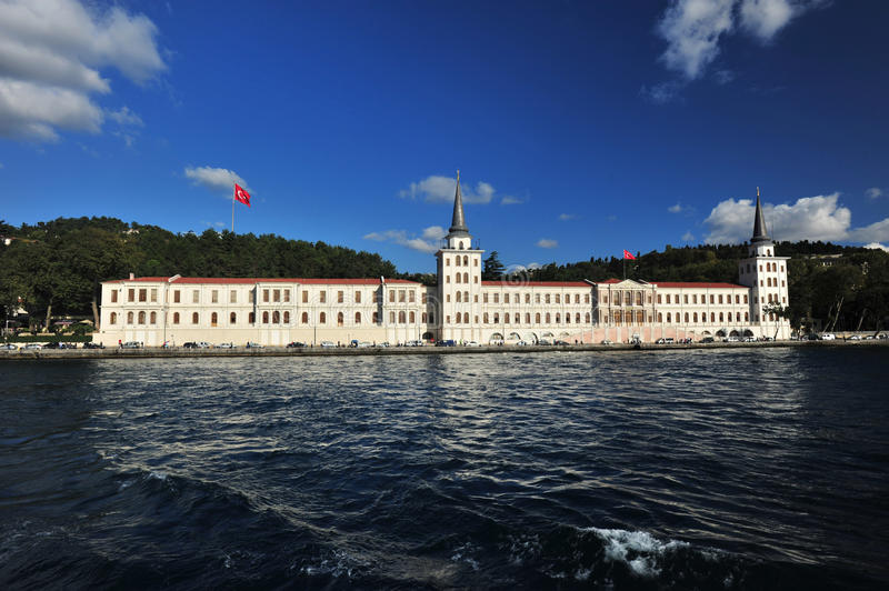 Castle at Istanbul Turkey royalty free stock images