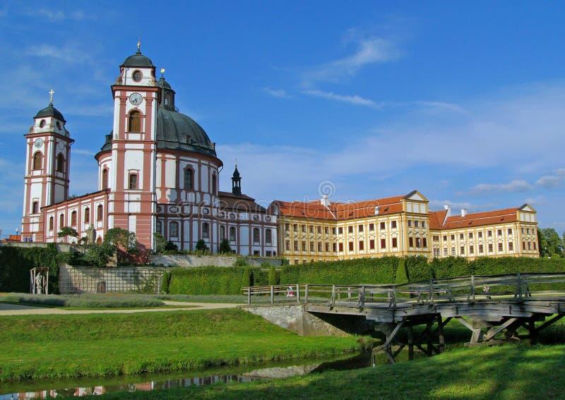 Castle Jaromerice nad Rokytnou stock images