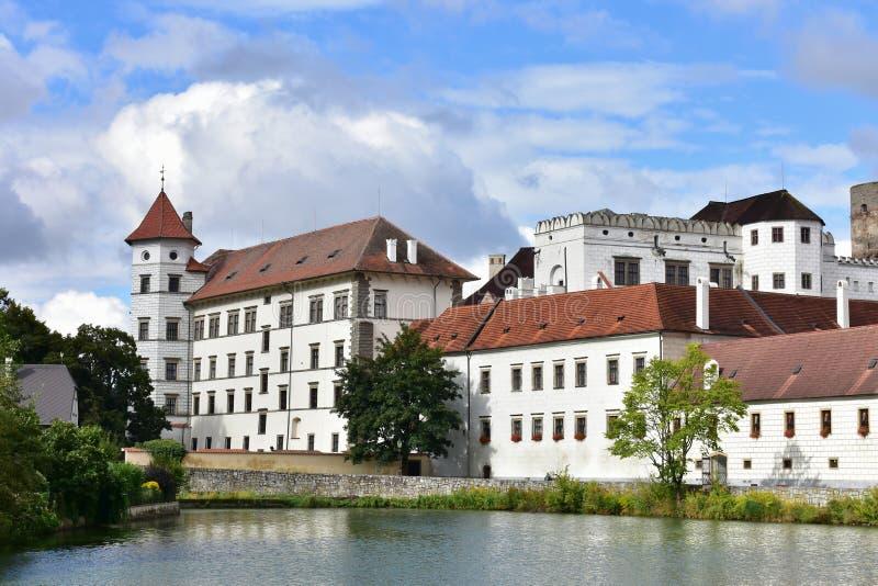 Castle Jindrichuv Hradec,Czech republic. 3.biggest complex in Czech republic stock photo
