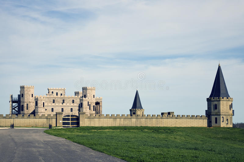 Castle in Kentucky stock images