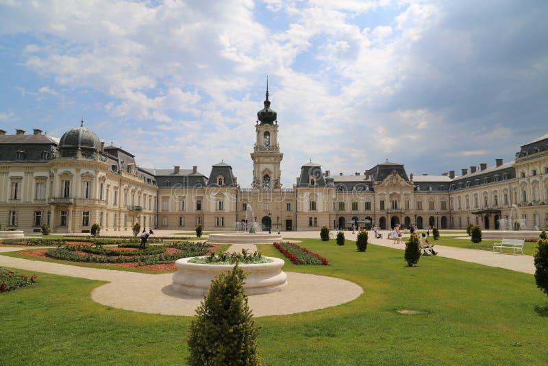Castle Keszthely στοκ φωτογραφία με δικαίωμα ελεύθερης χρήσης