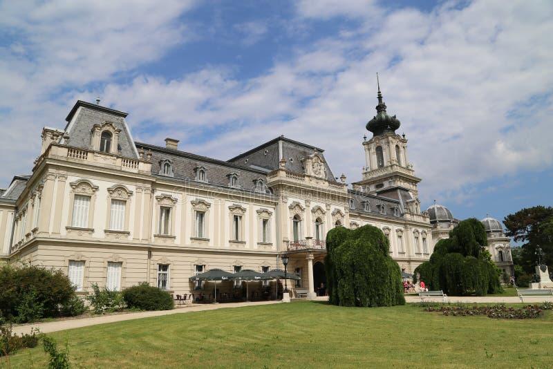 Castle Keszthely στοκ εικόνα