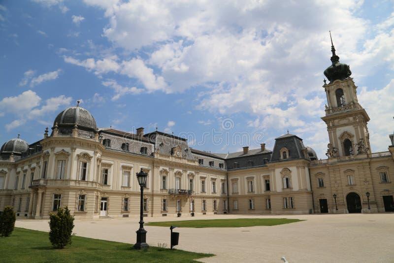 Castle Keszthely στοκ εικόνα με δικαίωμα ελεύθερης χρήσης