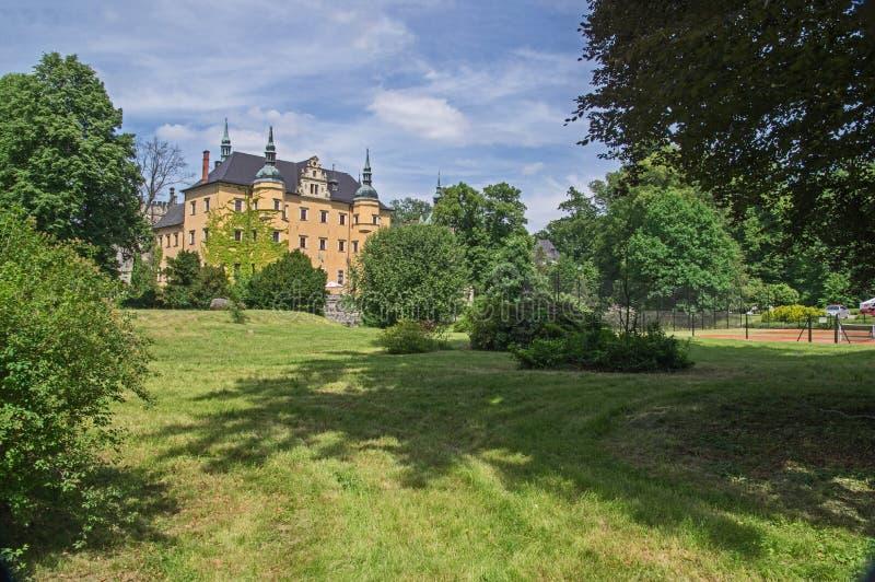Castle Kliczkà ³ W στοκ φωτογραφία