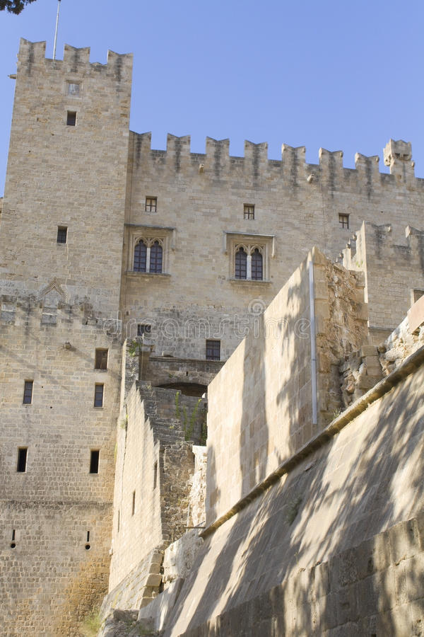Download Castle Of The Knights At Rhodes Greece Stock Image - Image: 13113251