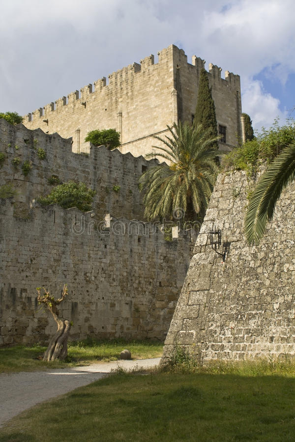 Download Castle Of The Knights At Rhodes Greece Stock Image - Image: 13113353