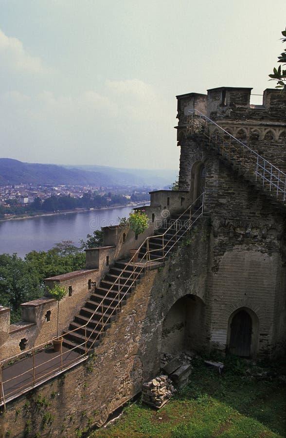 Castle- Koblenz, Germany royalty free stock photo
