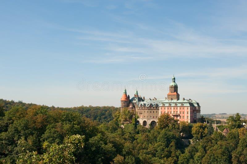 Castle Ksiaz royalty free stock photos