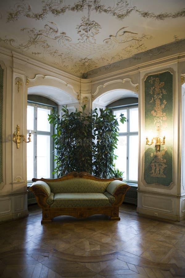 Castle in Ksiaz royalty free stock photo