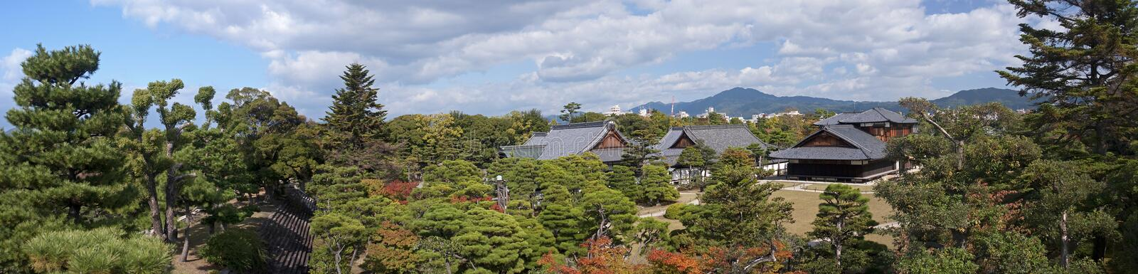 Download Castle in Kyoto, Japan stock image. Image of castle, gree - 28361473