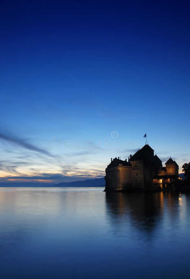 Download The Castle By The Lake Stock Image - Image: 2649451