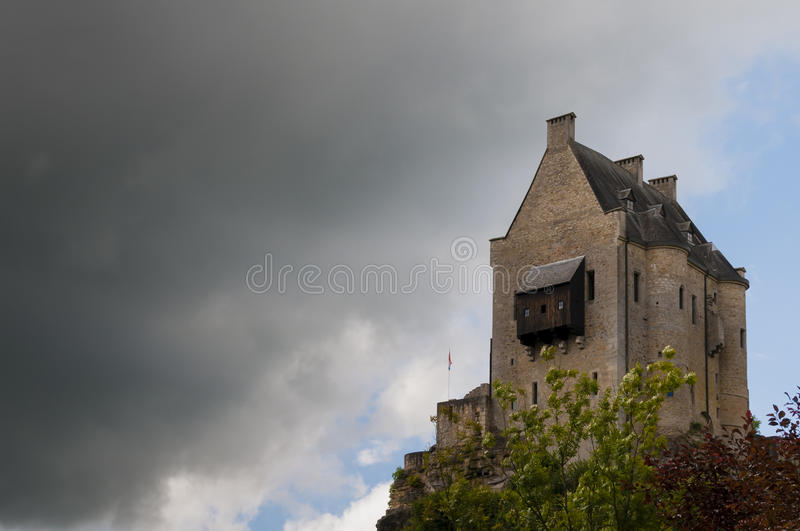 Castle Of Larochette Royalty Free Stock Photography