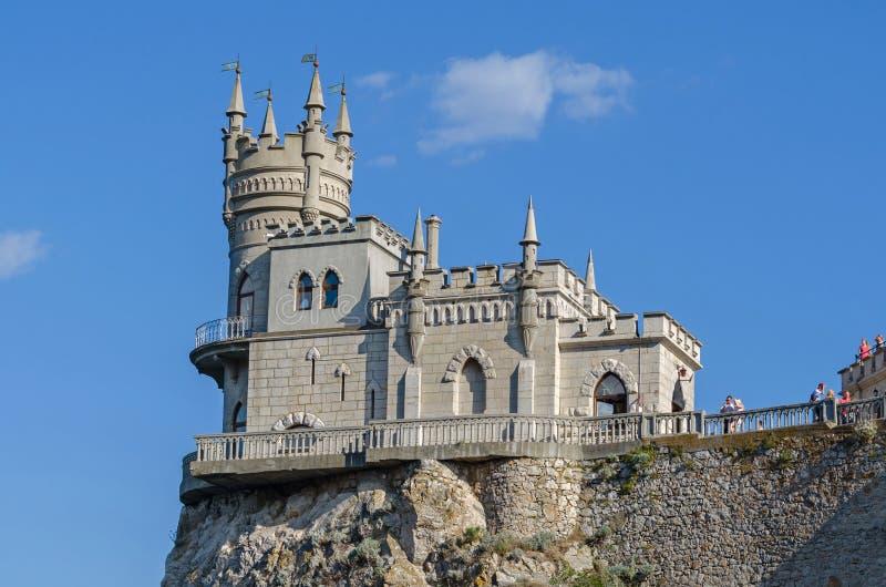 download castle lastochkino gnezdo editorial stock image image of brick 82225304