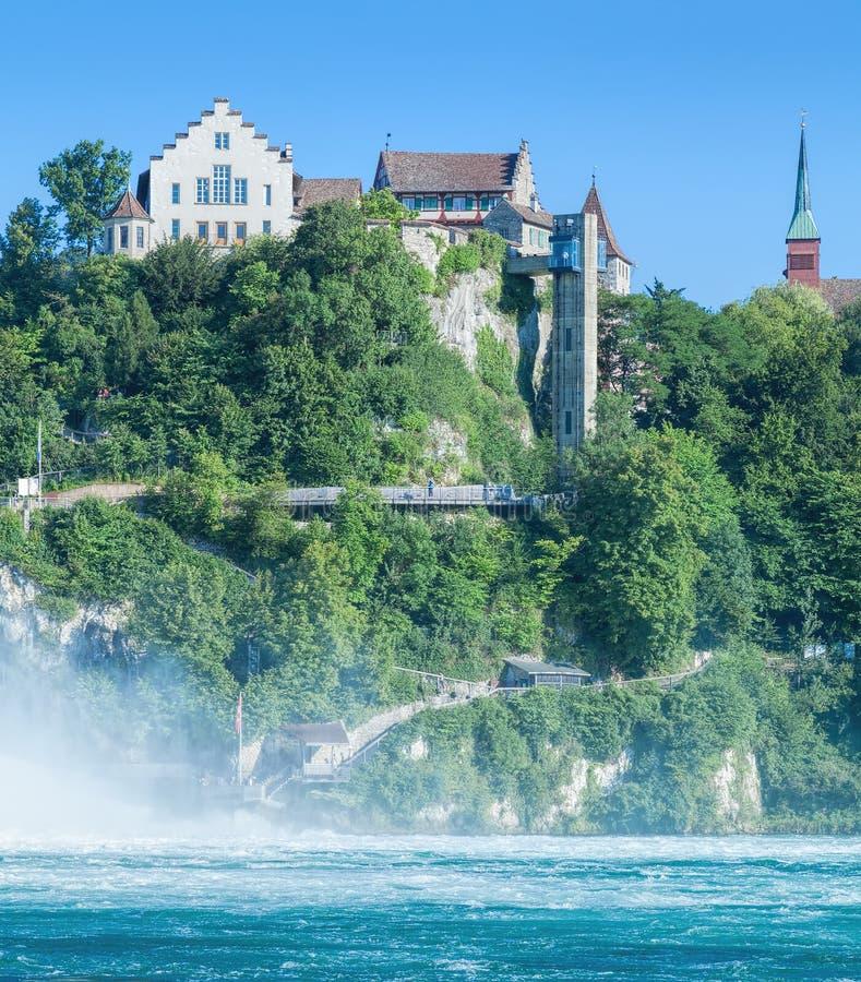 Castle Laufen στοκ εικόνες
