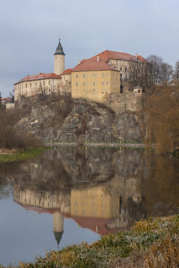 Castle Ledec nad Sazavou, Czech Republic royalty free stock photography