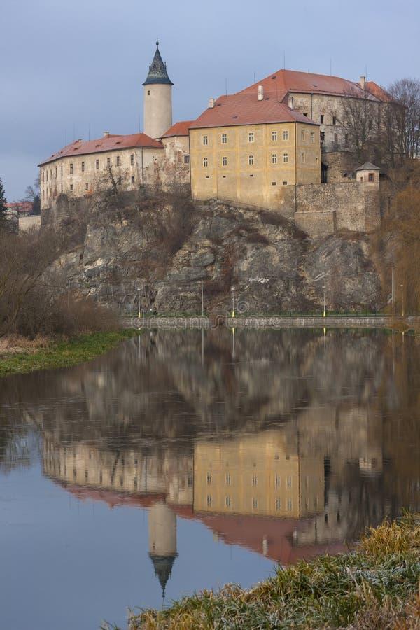 Castle Ledec and Sazavou, Τσεχική Δημοκρατία στοκ φωτογραφίες