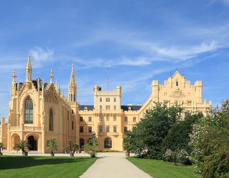 Castle Lednice royalty free stock photos