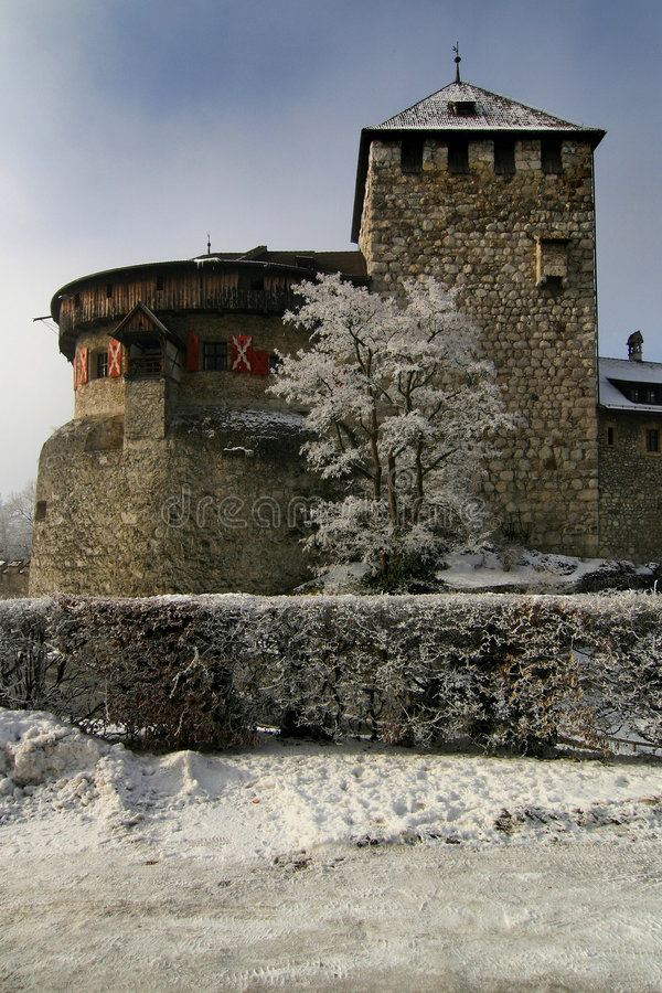 Free Castle Lichtenstein 1 Royalty Free Stock Photography - 451937