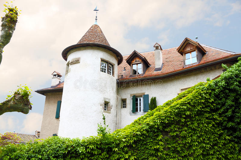 Castle Like Old Mansion Royalty Free Stock Image