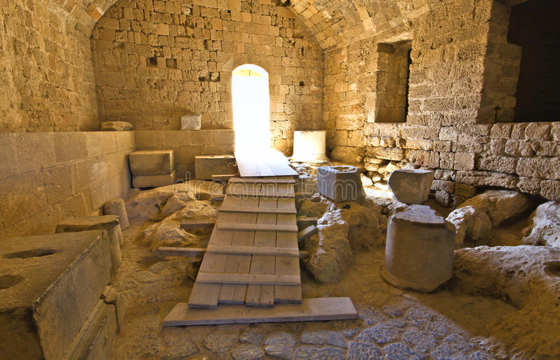 Download Castle Of Lindos At Rhodes, Greece Stock Photos - Image: 24478123