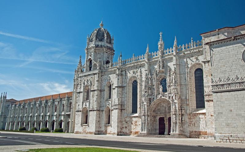Castle Lisbon stock photography