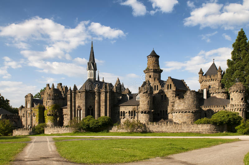 Castle Loewenburg royalty free stock images