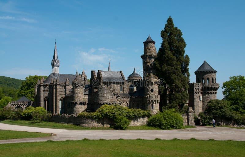 Castle loewenburg stock photography