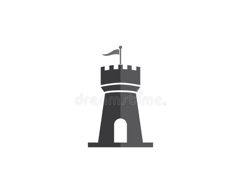 Castle Logo stock illustration