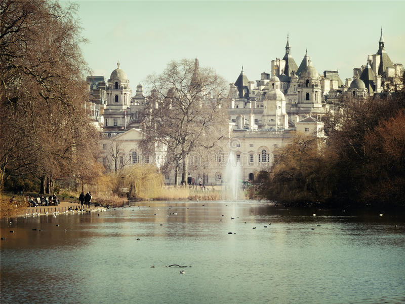 Castle in London royalty free stock photo