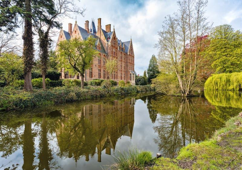 Castle Loppem στοκ φωτογραφίες με δικαίωμα ελεύθερης χρήσης