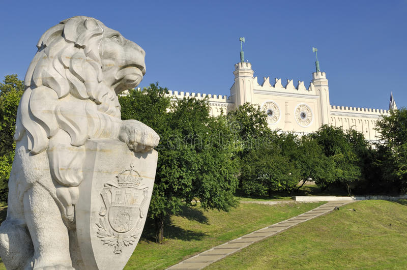 Castle of Lublin in Poland. Historical monuments royalty free stock photography