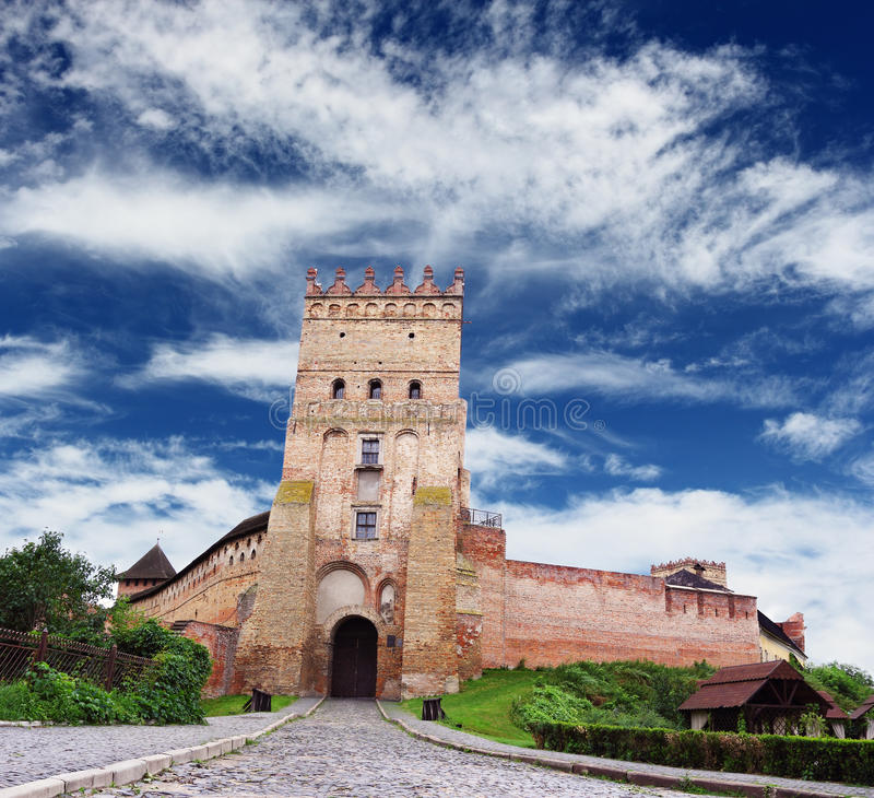 Castle in Lutsk royalty free stock photo