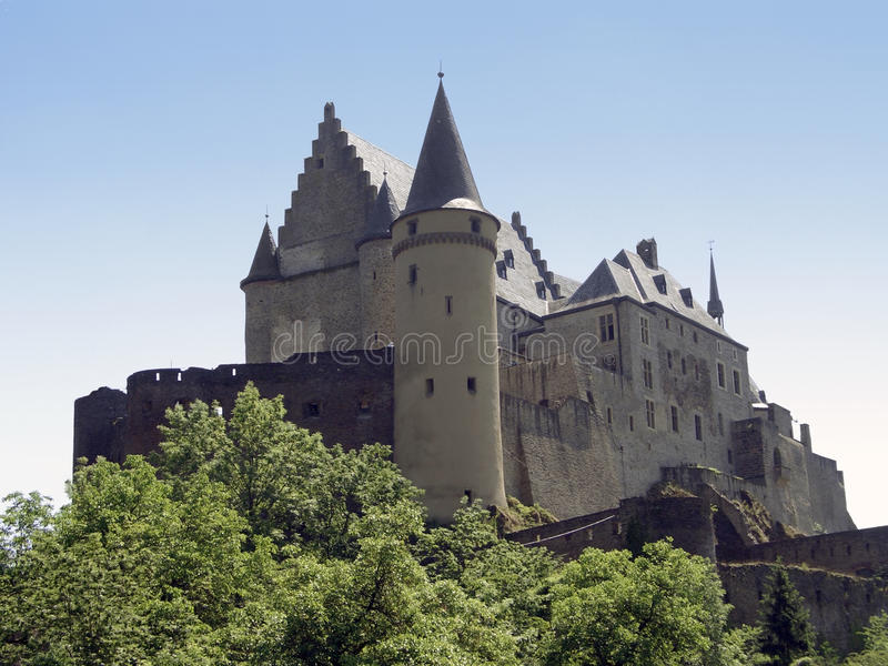 Download Castle in Luxembourg stock photo. Image of built, exterior - 22851934