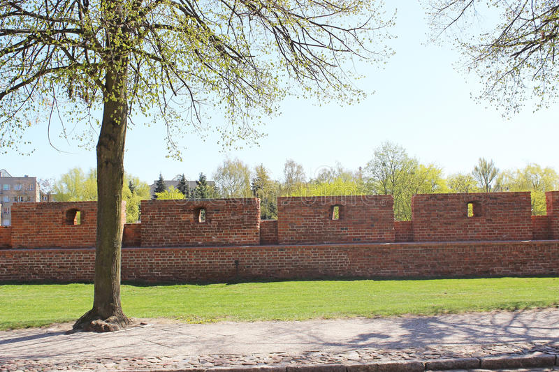 Download Castle in Malbork stock image. Image of tapemeasure, beautiful - 30835407
