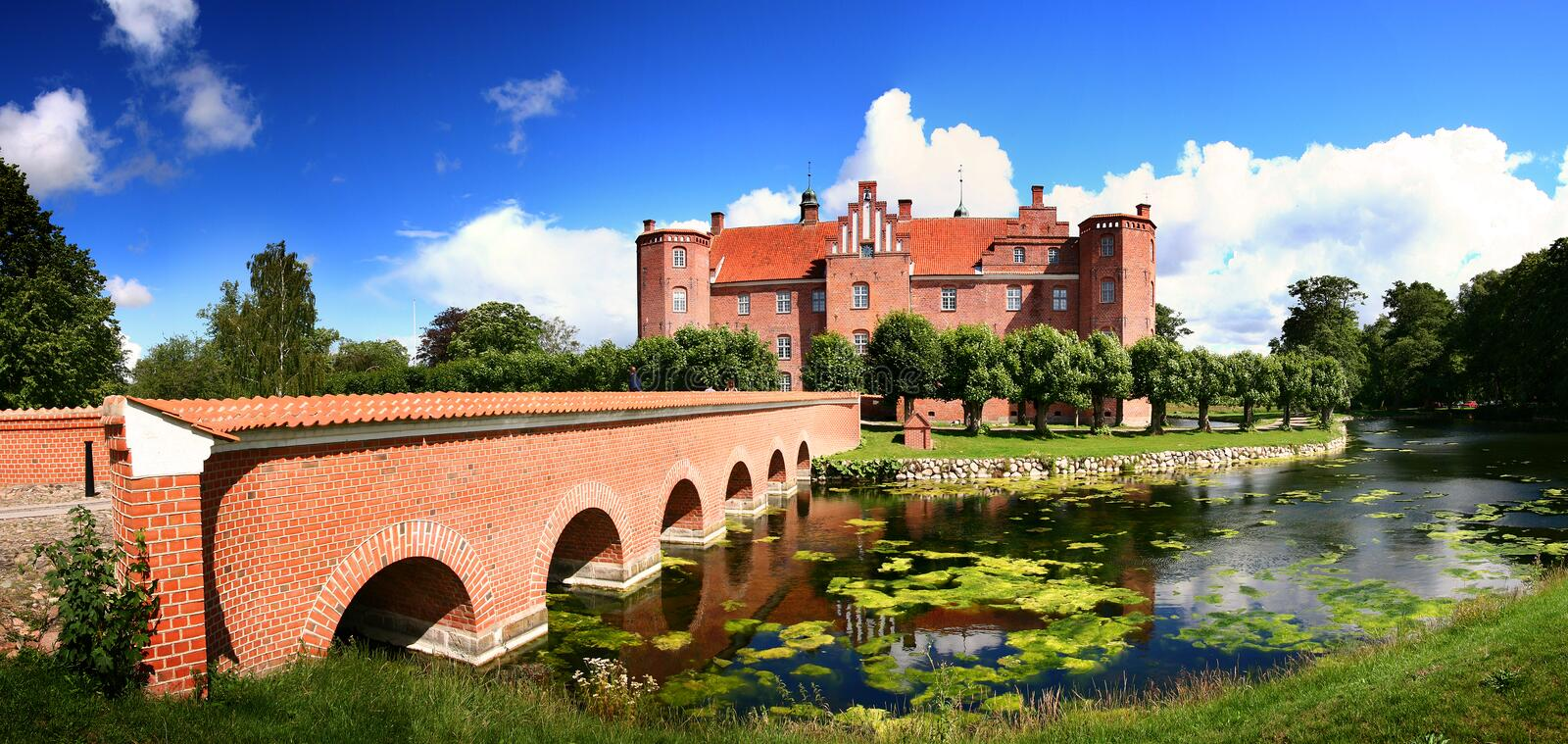 Download Castle manor house stock photo. Image of estrup, citadel - 5923876