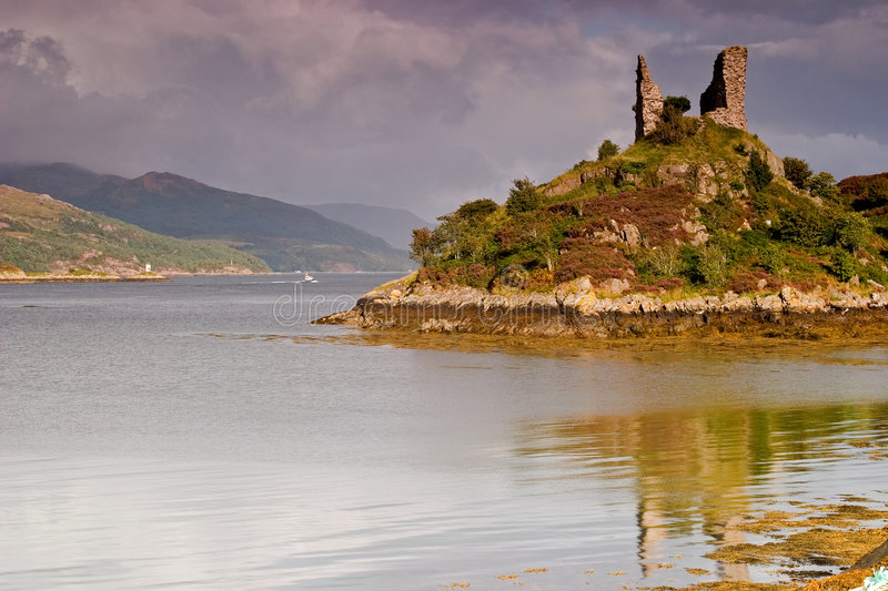 Download Castle Maol, Kyleakin Royalty Free Stock Image - Image: 1926026