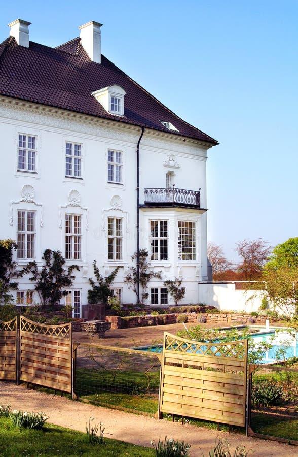 Castle marselisborg stock photography