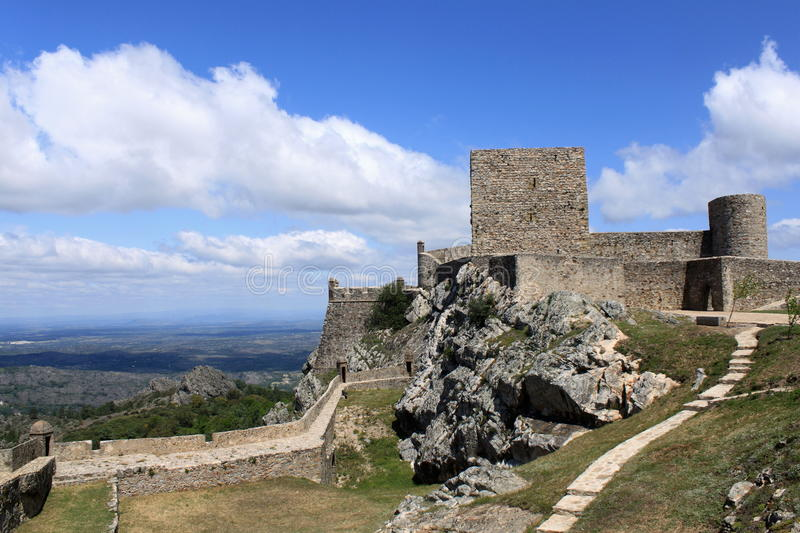 Castle of Marvao stock image