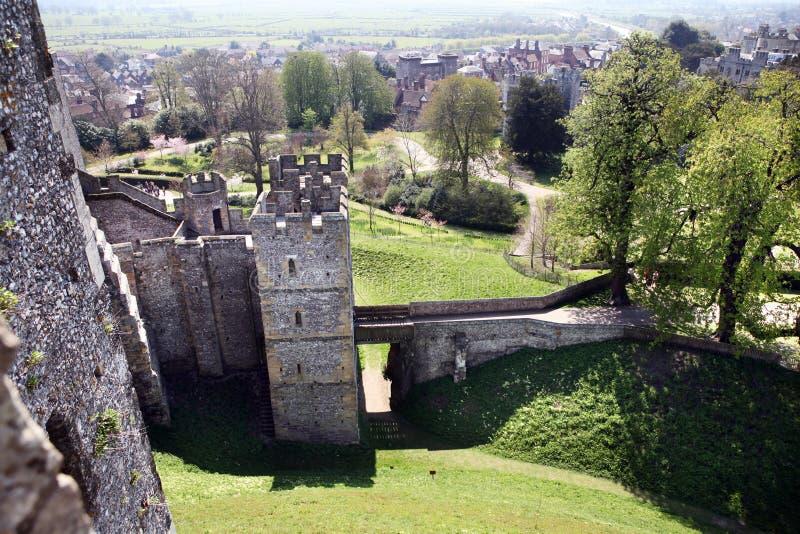 Download Castle Medieval English Arundel Stock Image - Image: 14061801