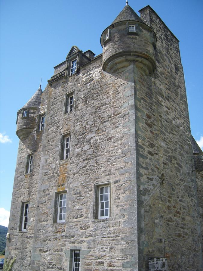 Castle Menzies Perthshire Scotland stock photo