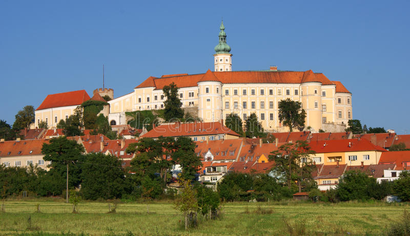 Castle of Mikulov. Czech Republic stock photos