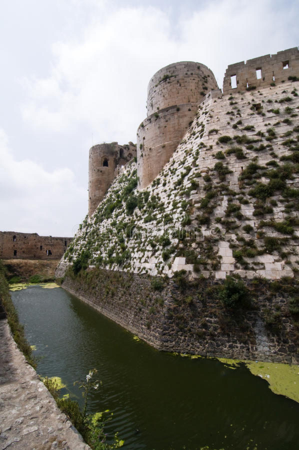 Castle Moat Stock Images
