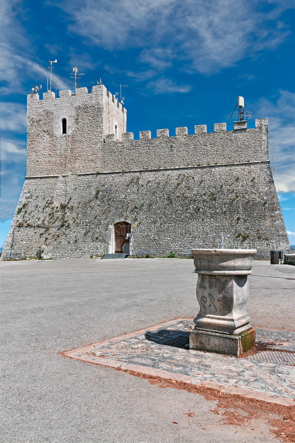 Castle monforte royalty free stock photography