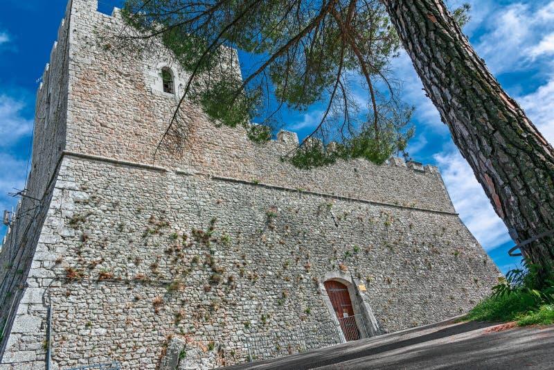 Castle monforte royalty free stock image