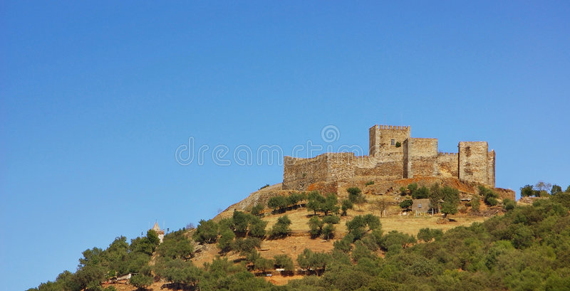 Download Castle of Monsaraz. stock photo. Image of ancient, history - 6833220