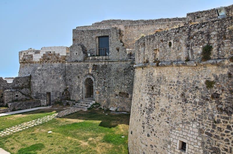 Castle Monte Sant'Angelo. Πούλια. Ιταλία. στοκ εικόνες