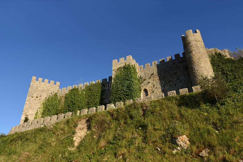 Castle of Montemor o velho, Beiras region,. Portugal stock image
