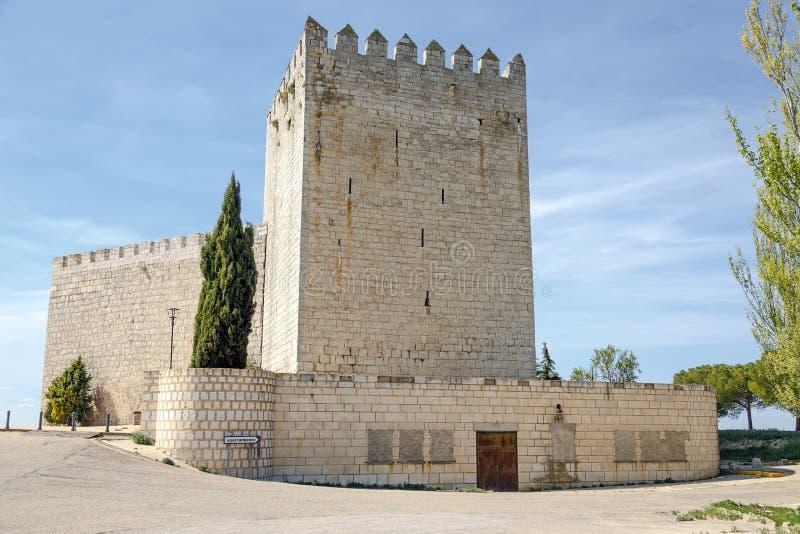 Castle Monzon de Campos imágenes de archivo libres de regalías