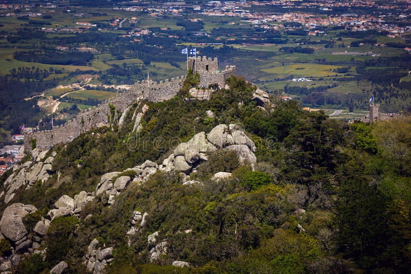 Download Castle Of The Moors In Sintra Stock Image - Image: 83723699